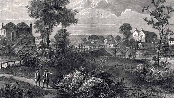Jenny's Whim Bridge, Pimlico, London, 1750