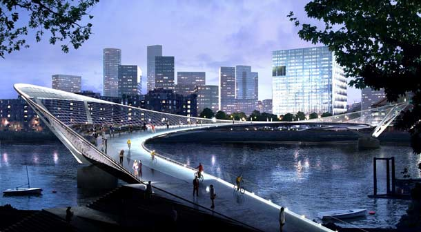Nine Elms to Pimlico Bridge Design Competition